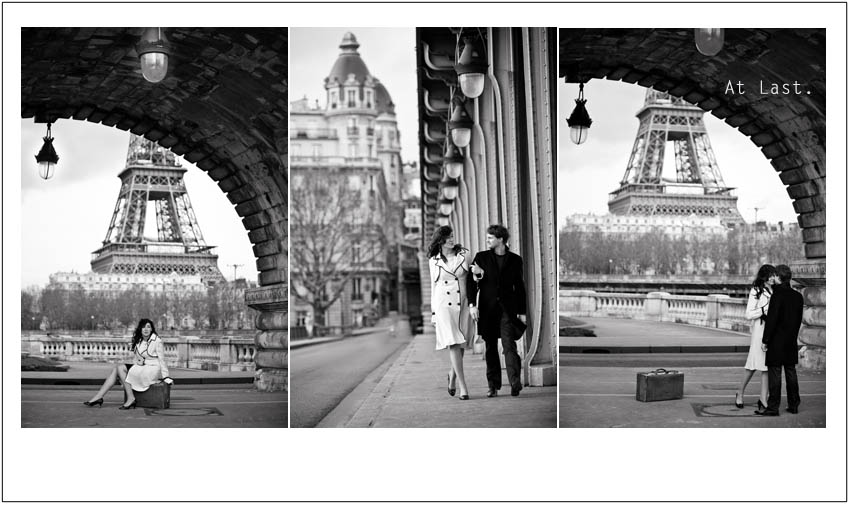 a playful vintage shoot in paris sonia and jeremy